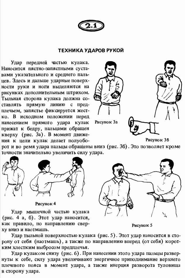 Как сделать удар кулаком